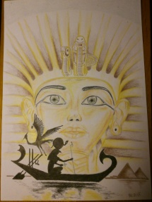 Egypt pastelky