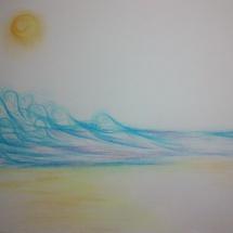 Intuitivní kresba_Moře