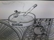 Karikatura_popelník