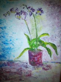 Květina špachtle