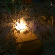 Malba na sklo_Andělé