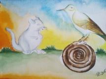 Myš a ptáček