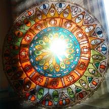Malování na sklo_ Mandala uzdravení